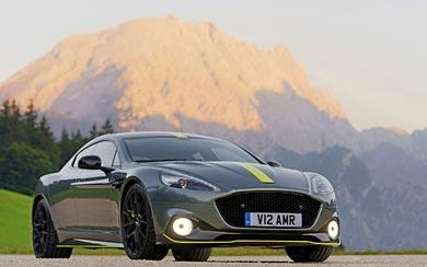 2019 Aston Martin Rapide AMR wallpaper thumbnail.
