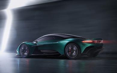 2019 Aston Martin Vanquish Vision Concept wallpaper thumbnail.
