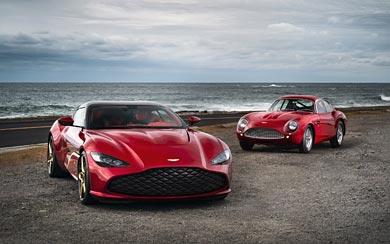 2020 Aston Martin DBS GT Zagato wallpaper thumbnail.