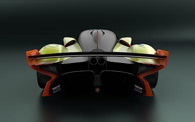2020 Aston Martin Valkyrie AMR Pro wallpaper thumbnail.