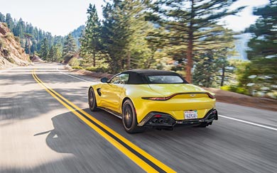 2021 Aston Martin Vantage Roadster wallpaper thumbnail.