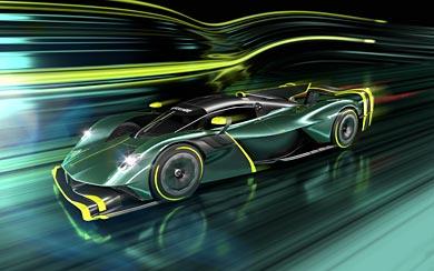 2022 Aston Martin Valkyrie AMR Pro wallpaper thumbnail.