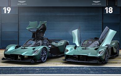 2022 Aston Martin Valkyrie Spider wallpaper thumbnail.