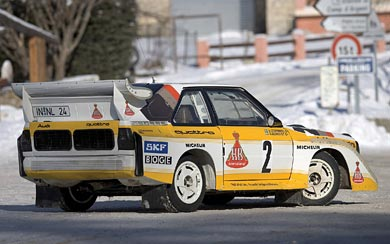 1985 Audi Sport Quattro S1 wallpaper thumbnail.