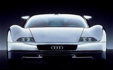 1991 Audi Avus Quattro Concept wallpaper thumbnail.