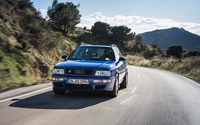 1995 Audi RS2 Avant wallpaper thumbnail.