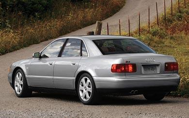 1996 Audi S8 wallpaper thumbnail.