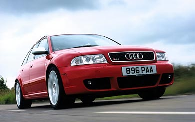 2000 Audi RS4 Avant wallpaper thumbnail.