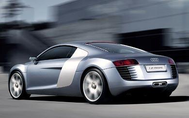 2003 Audi Le Mans Quattro Concept wallpaper thumbnail.