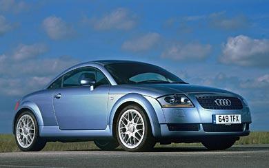 2003 Audi TT wallpaper thumbnail.