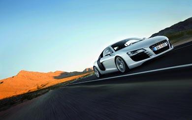 2007 Audi R8 wallpaper thumbnail.