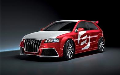 2008 Audi A3 TDI Clubsport Quattro wallpaper thumbnail.