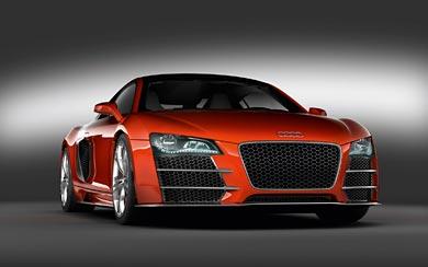 2008 Audi R8 TDI Le Mans wallpaper thumbnail.