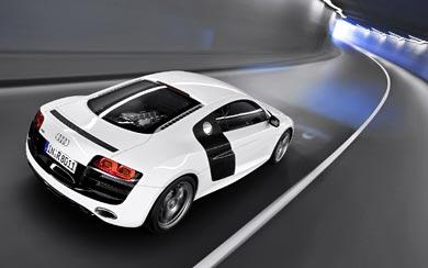 2009 Audi R8 5.2 FSI Quattro wallpaper thumbnail.