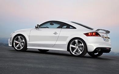 2009 Audi TT RS Coupe wallpaper thumbnail.
