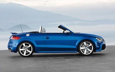 2009 Audi TT RS Roadster wallpaper thumbnail.