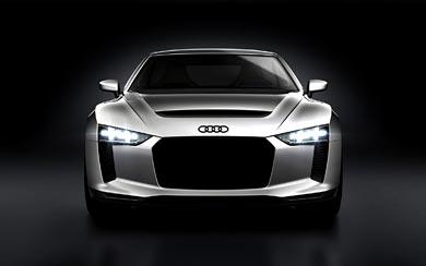 2010 Audi Quattro Concept wallpaper thumbnail.