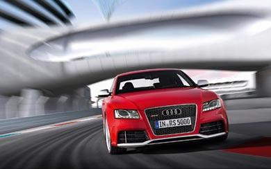 2010 Audi RS5 wallpaper thumbnail.