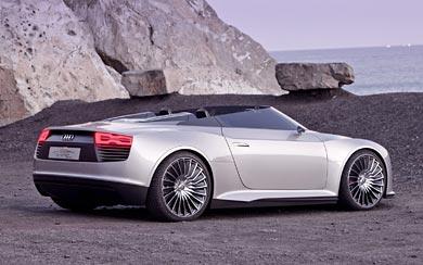 2010 Audi E-Tron Spyder Concept wallpaper thumbnail.