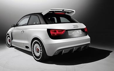 2011 Audi A1 Clubsport Quattro Concept wallpaper thumbnail.
