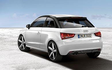 2012 Audi A1 Amplified wallpaper thumbnail.