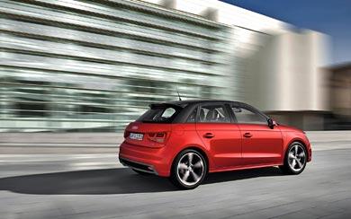 2012 Audi A1 Sportback wallpaper thumbnail.