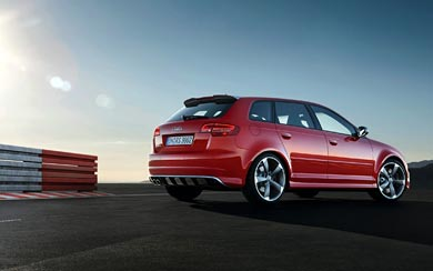 2012 Audi RS3 Sportback wallpaper thumbnail.