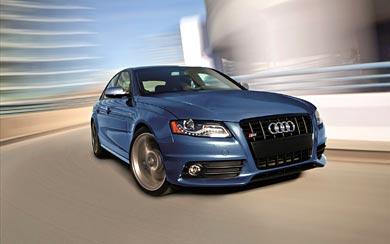 2012 Audi S4 wallpaper thumbnail.