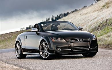 2012 Audi TTS Roadster wallpaper thumbnail.