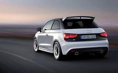 2013 Audi A1 Quattro wallpaper thumbnail.