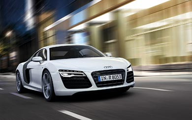 2013 Audi R8 V10 wallpaper thumbnail.