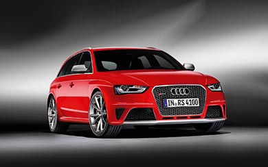 2013 Audi RS4 Avant wallpaper thumbnail.
