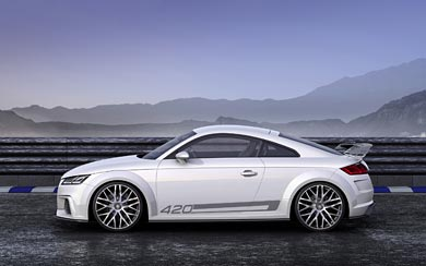 2014 Audi TT Quattro Sport Concept wallpaper thumbnail.