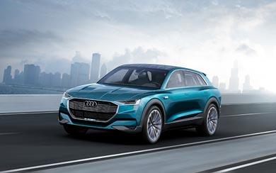 2015 Audi E-Tron Quattro Concept wallpaper thumbnail.