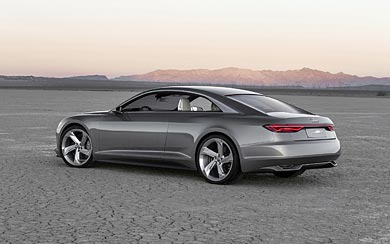 2015 Audi Prologue Piloted Driving Concept wallpaper thumbnail.