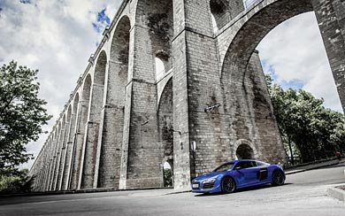 2015 Audi R8 LMX wallpaper thumbnail.