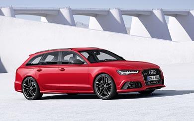 2015 Audi RS6 Avant wallpaper thumbnail.