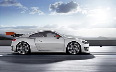 2015 Audi TT Clubsport Turbo Concept wallpaper thumbnail.