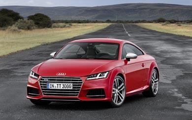 2015 Audi TTS Coupe wallpaper thumbnail.