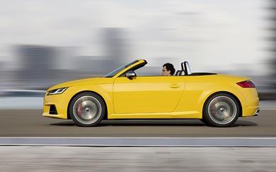 2015 Audi TTS Roadster wallpaper thumbnail.
