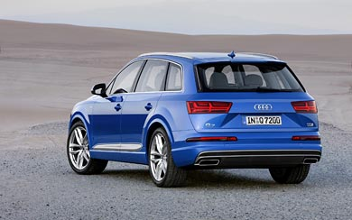 2016 Audi Q7 wallpaper thumbnail.