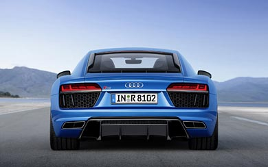 2016 Audi R8 V10 wallpaper thumbnail.