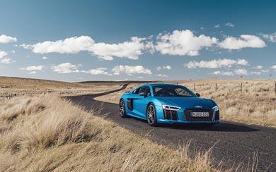 2016 Audi R8 V10 Plus wallpaper thumbnail.