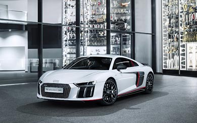 2016 Audi R8 V10 Plus 'selection 24h' wallpaper thumbnail.