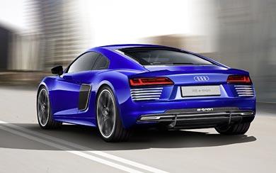 2016 Audi R8 e-tron wallpaper thumbnail.