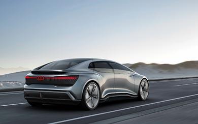 2017 Audi Aicon Concept wallpaper thumbnail.