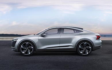 2017 Audi E-Tron Sportback Concept wallpaper thumbnail.