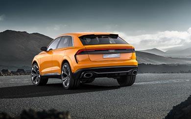 2017 Audi Q8 Sport Concept wallpaper thumbnail.