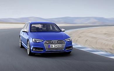2017 Audi S4 Avant wallpaper thumbnail.