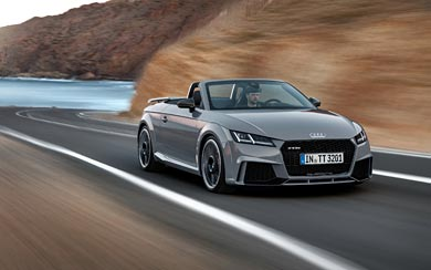 2017 Audi TT RS wallpaper thumbnail.